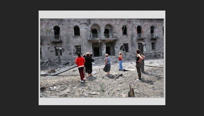 Gruzija lūdz Latvijai humāno palīdzību