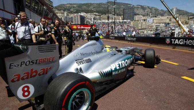 Квалификацию в Монако выиграл Росберг, Масса ее даже не начал