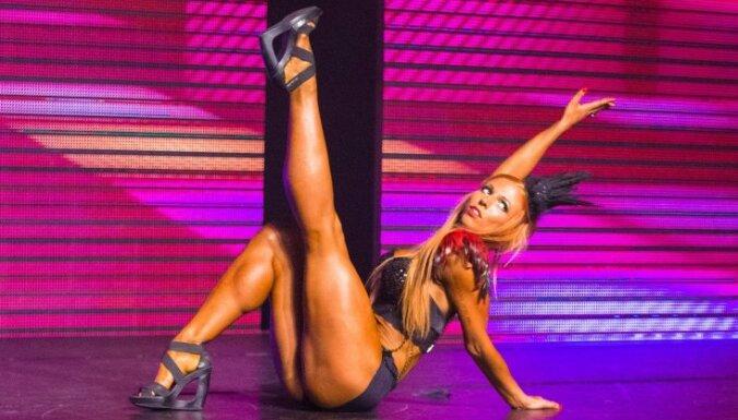 Rīgā šiki aizvadīts bikini daiļavu konkurss