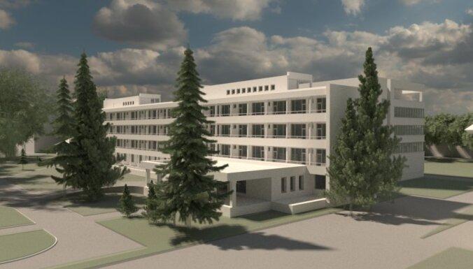 Bijušā Rīgas Kara hospitāļa teritorijas daļas atjaunošana izmaksās vairāk nekā 18,7 miljonus eiro