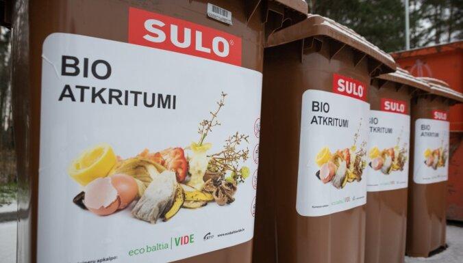Bioatkritumu šķirošana: cik bieži tos izved un kur tie nonāk