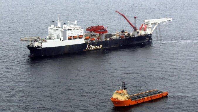 'Nord Stream 2' būvniecības atļauja: Krievija somiem ir psiholoģiska problēma