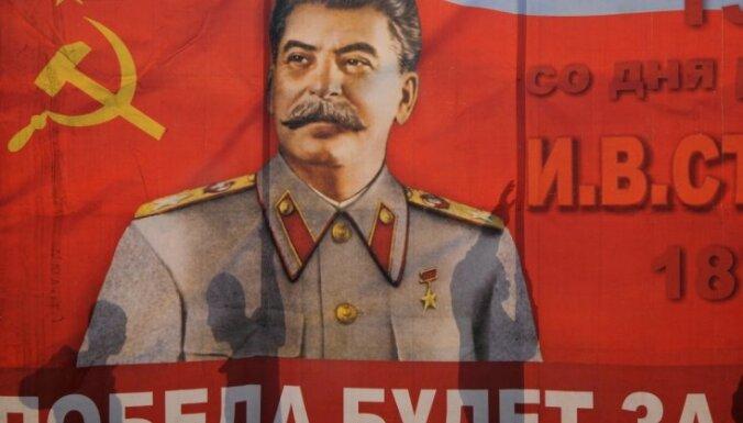 В Симферополе разгромили выставку в честь Сталина