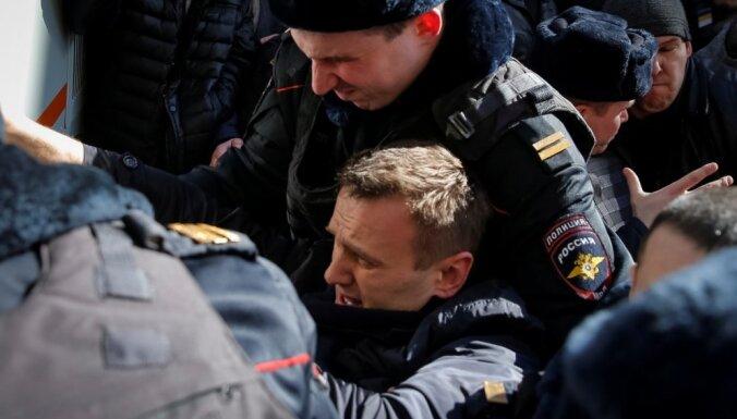 Алексея Навального задержали в Москве