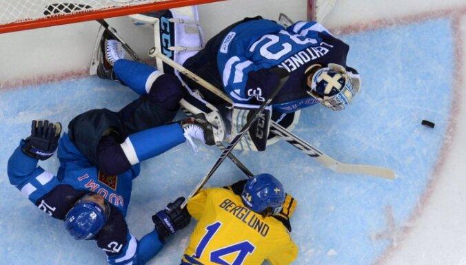 Сборная Швеции победила финнов в полуфинале Олимпиады