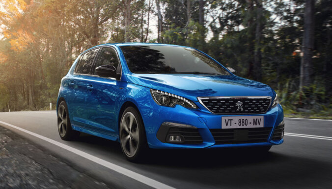 'Peugeot' modernizējis '308' modeļa saimi