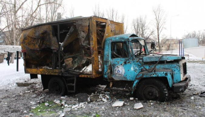 Из-за обстрелов Донецк остался без воды