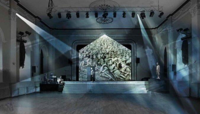 Simtgadei veltītā izrādē 'Valka. Latvija. Brīvība.' mīlas stāsts savīsies ar valsts tapšanu