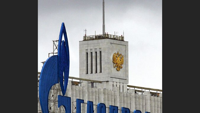 'Gazprom' draud no 1. janvāra atslēgt gāzi Ukrainai