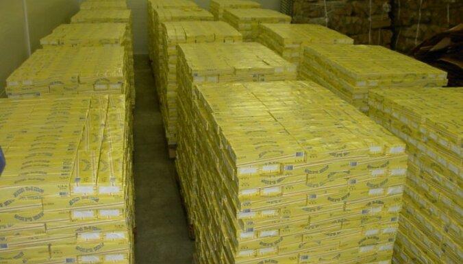 В Риге уничтожат 37 млн. контрабандных сигарет