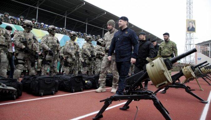 """США ввели санкции против спецотряда """"Терек"""" и личного охранника Кадырова"""