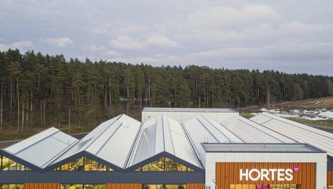 В Риге открывают первый в Латвии садовый центр Hortes