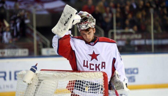 ВИДЕО: С лидером чемпионата КХЛ в Астане приключился конфуз