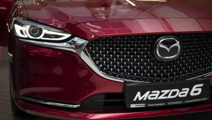 Jaunās 'Mazda6' Latvijas pirmizrāde
