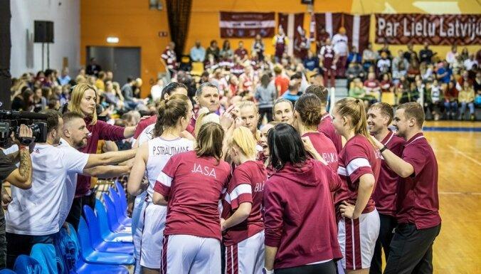 Latvijas sieviešu basketbola izlase svarīgā atlases turnīra spēlē uzņems Vāciju