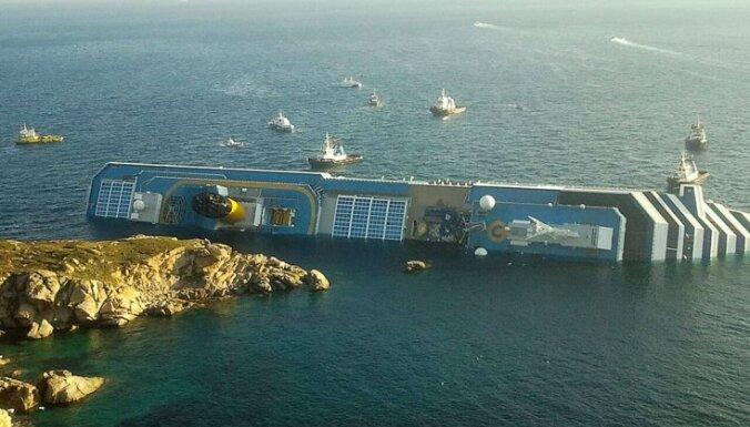 Atrasti vēl divi 'Cost Concordia' avārijā bojāgājušie