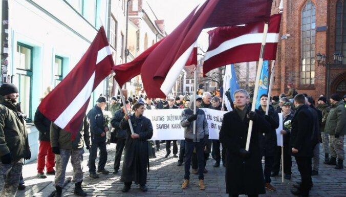 Pašvaldība atļauj visus 16. martā Rīgā pieteiktos pasākumus