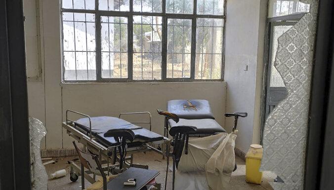 Militārā konflikta skartajā Etiopijas Tigrajas reģionā izdemolētas slimnīcas