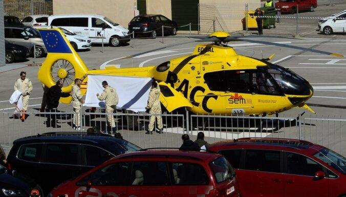 Alonso cietis smagā avārijā F-1 pirmssezonas testos