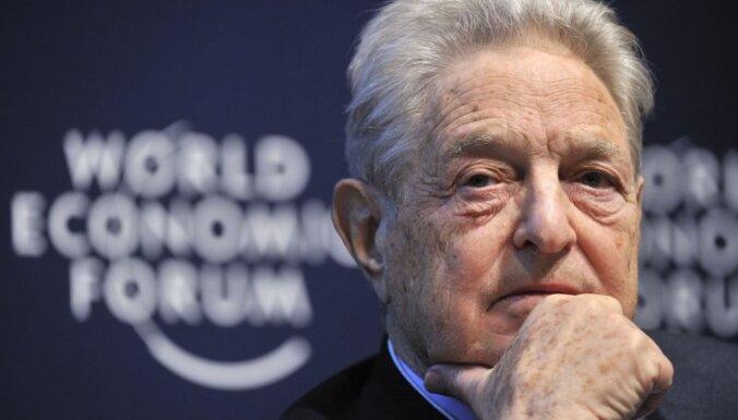 Soross mudina Vāciju uzņemties eirozonas glābšanu vai arī pamest šo savienību