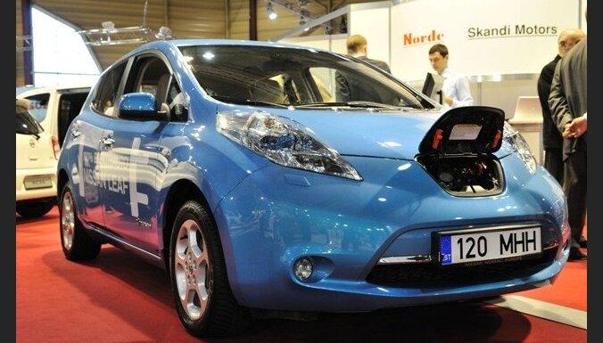 Igaunijā vasarā sāks elektromobiļu nomas biznesu