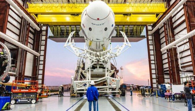 SpaceX запланировала отправить первых космических туристов в 2021 году