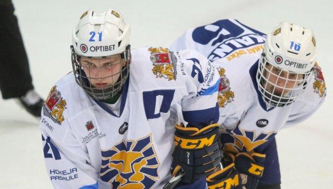 Hokeja skola 'Rīga' jau pirmajā periodā nokārto uzvaru pret 'Prizma/IHS'
