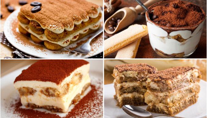 Tiramisu – salds kā kurtizānes skūpsts! 17 grēcīgi gardas receptes
