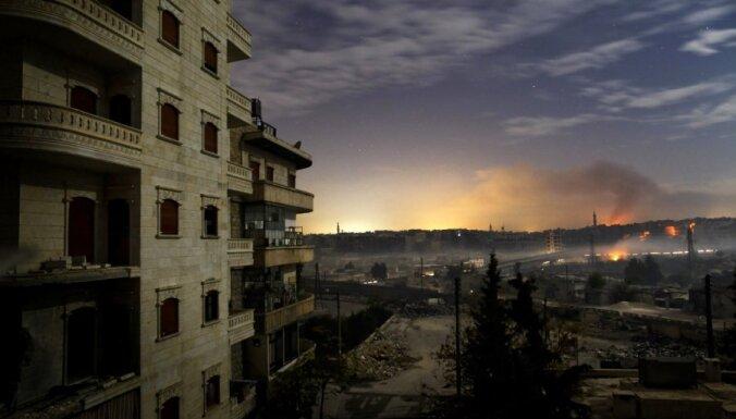Сирия: повстанцы ринулись в атаку на Дамаск