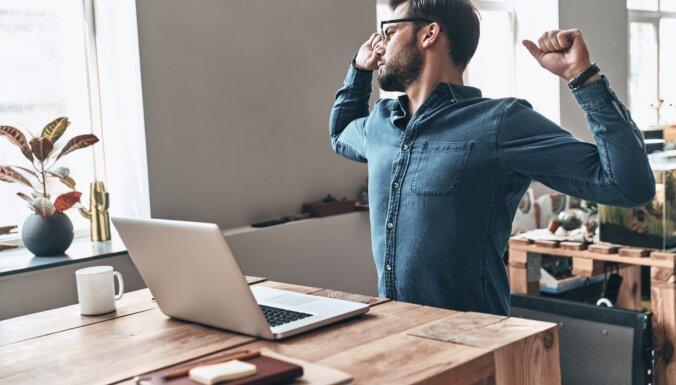 Špikeris darbīgajiem: vienkārši un efektīvi vingrojumi, nepametot darba vietu