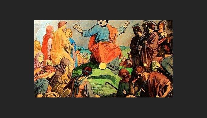 Jēzus ar Mikipeles galvu atzīts par ekstrēmu mākslu