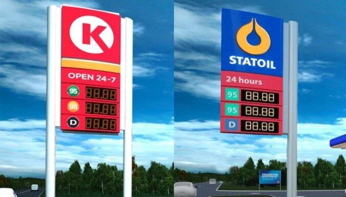 Владелец латвийских заправок Statoil сменил юридическое название на Circle K Latvia