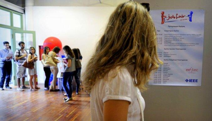 Reģistrētā bezdarba līmenis novembrī pieaudzis līdz 8,4%