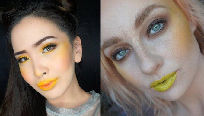 Dzeltenā nokrāsas – pavasarīga aktualitāte drosminiecēm