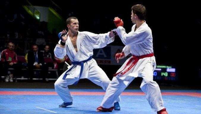 Latvijas karatists Sadikovs zaudē cīņā par Eiropas čempionāta bronzu