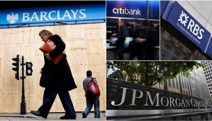 Швейцария оштрафовала крупные банки за манипулирование валютными курсами