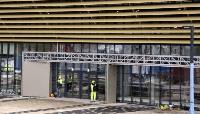 'Daugavas' stadiona ledus halle nodota ekspluatācijā
