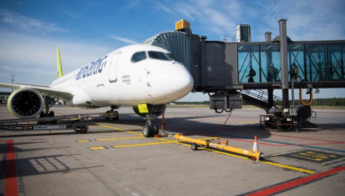 'airBaltic' izplešas Tallinas lidostā