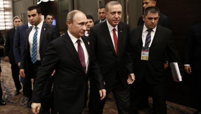 Путин и Эрдоган в беседе по телефону договорились о личной встрече