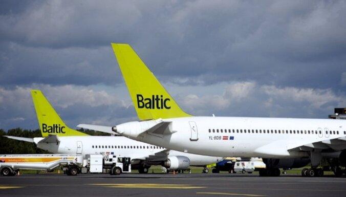 Самолет airBaltic не смог вылететь из Тбилиси в Ригу