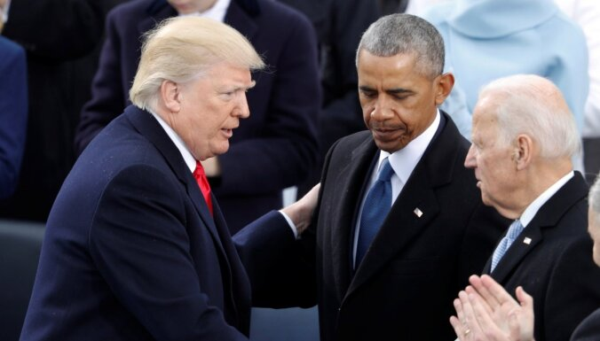 Обама выступил на митинге за Байдена. Трамп заметил, что за Хиллари он тоже агитировал