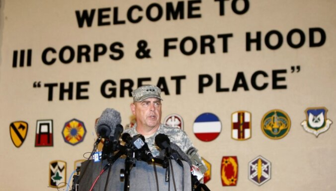 Стрельба на военной базе США: нападавший убил троих и ранил 16 военнослужащих