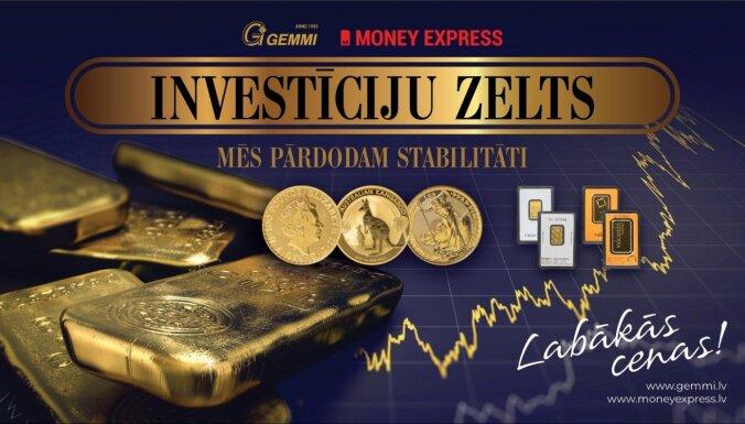 Nekustamie īpašumi vai investīciju zelts. Apskats no 'Money Express'