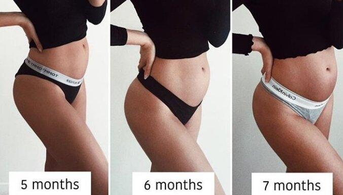 """Удивительная беременность: живот рос """"в себя"""""""