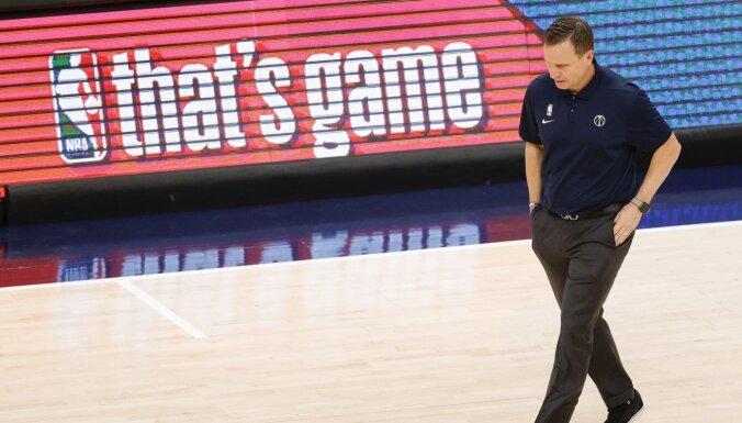 'Wizards' nevienojas ar Bruksu – Bertānam būs trešais treneris NBA karjerā