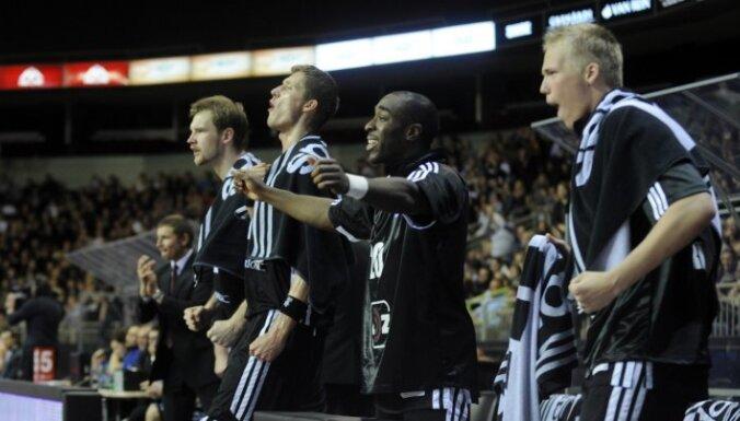 Čempionvienība 'VEF Rīga' LBL mačā pārliecinoši pieveic 'Turības' basketbolistus
