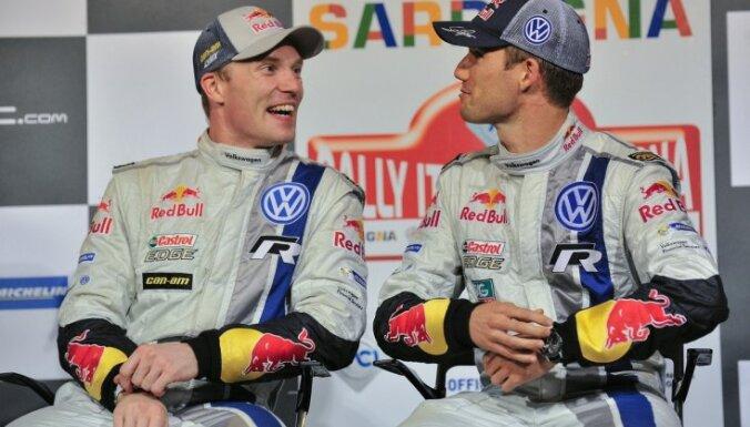 'VW' komanda ar interesi gaida savu pilotu 'kautiņu' Spānijas WRC rallijā
