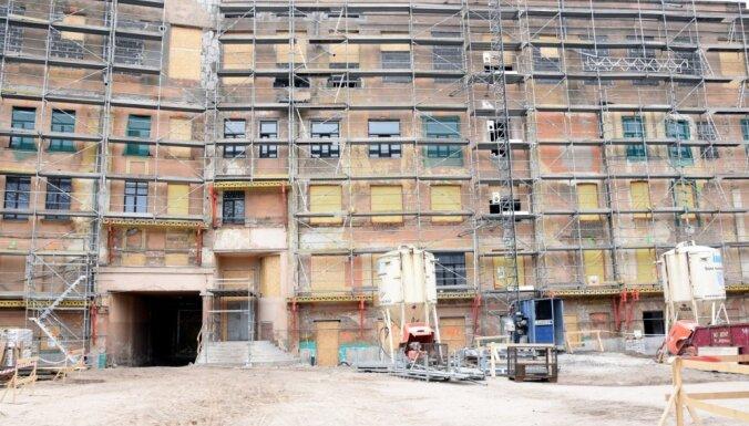 Tabakas fabrikas pārbūvi JRT vajadzībām sola pabeigt līdz 30. jūnijam