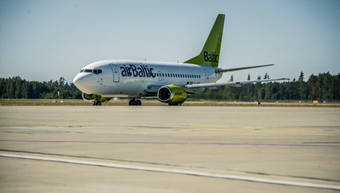 ВИДЕО: airBaltic попрощалась с самолетами Boeing