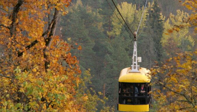 Сигулдский воздушный трамвай отмечает юбилей — 45 лет